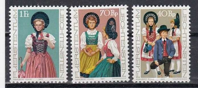 Liechtenstein Mi.-Nr.: 684/86 postfrisch