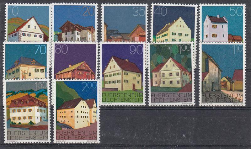 Liechtenstein Mi.-Nr.: 694/705  postfrisch
