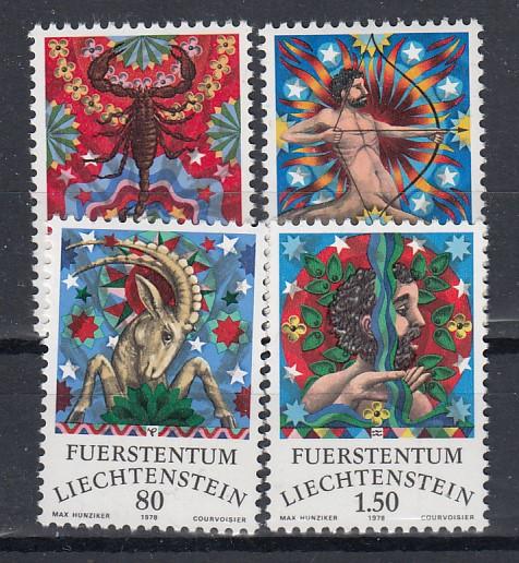 Liechtenstein Mi.-Nr.; 713/16  postfrisch