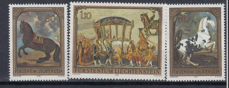 Liechtenstein Mi.-Nr.; 717/19  postfrisch