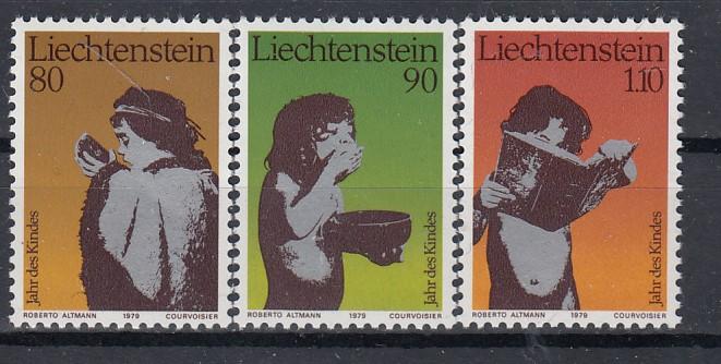 Liechtenstein Mi.-Nr.; 725/27  postfrisch