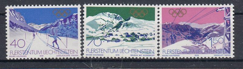 Liechtenstein Mi.-Nr.: 735/37  postfrisch
