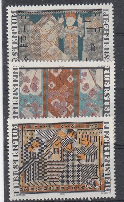 Liechtenstein Mi.-Nr.: 738/40  postfrisch