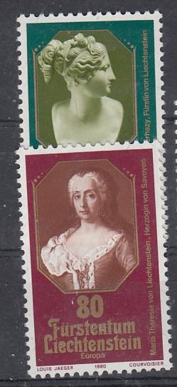 Liechtenstein Mi.-Nr.: 741/42  postfrisch