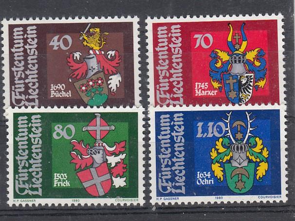 Liechtenstein Mi.-Nr.: 743/46  postfrisch