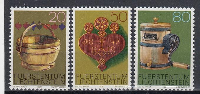 Liechtenstein Mi.-Nr.: 747/49  postfrisch