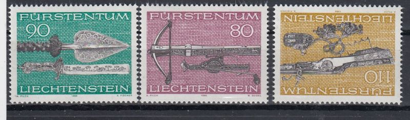 Liechtenstein Mi.-Nr.: 751/53  postfrisch