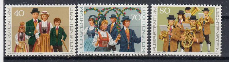 Liechtenstein Mi.-Nr.: 754/56  postfrisch