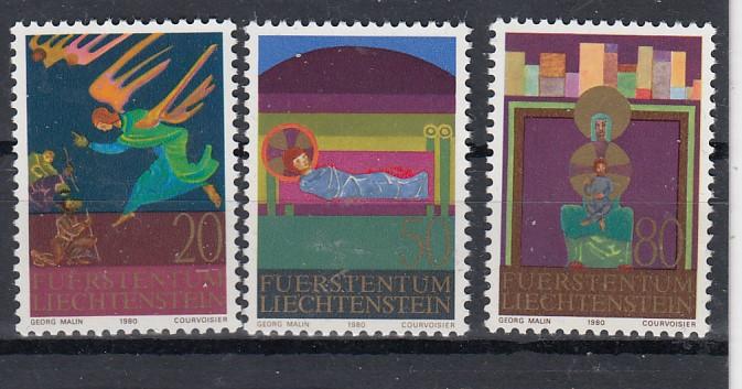 Liechtenstein Mi.-Nr.: 761/63  postfrisch