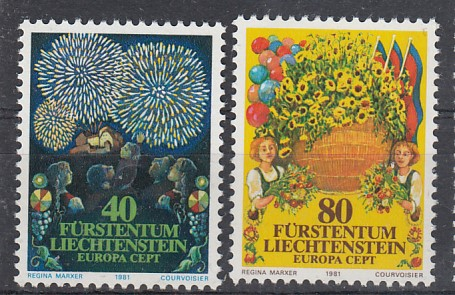 Liechtenstein Mi.-Nr.: 764/65  postfrisch
