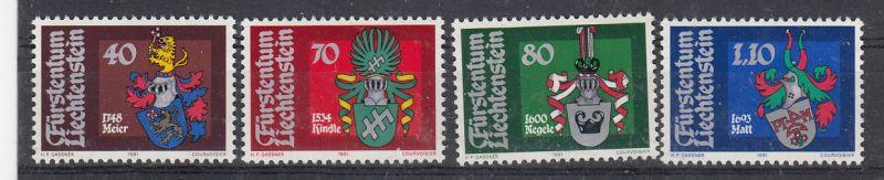 Liechtenstein Mi.-Nr.: 766/69  postfrisch