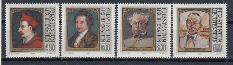 Liechtenstein Mi.-Nr.: 784/87  postfrisch