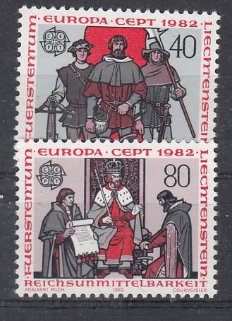 Liechtenstein Mi.-Nr.: 791/92  postfrisch