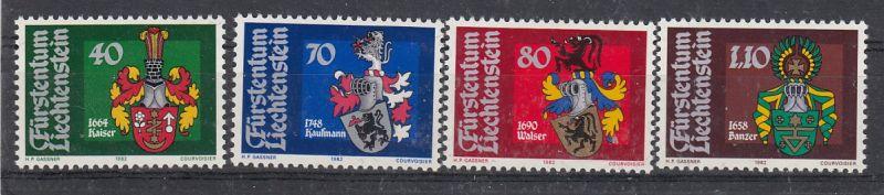 Liechtenstein Mi.-Nr.: 793/96  postfrisch