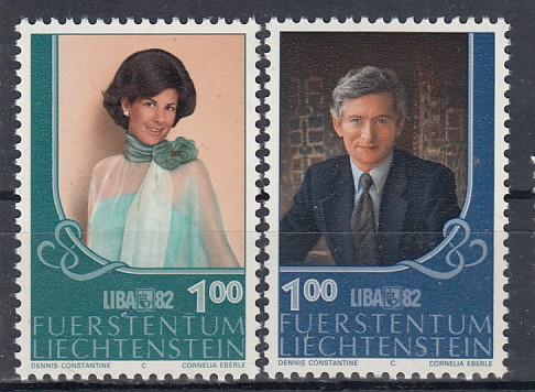 Liechtenstein Mi.-Nr.: 797/98  postfrisch
