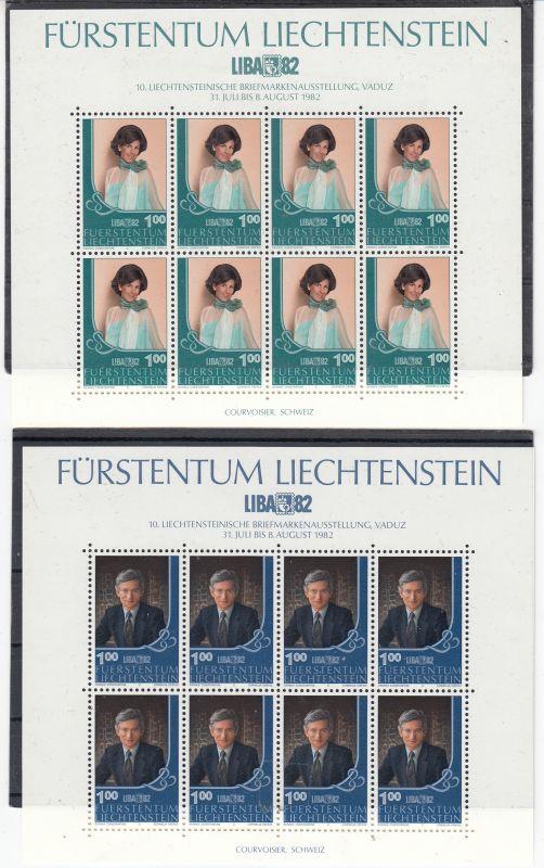 Liechtenstein Mi.-Nr.: 797/98  Kb postfrisch