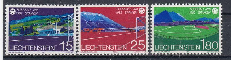 Liechtenstein Mi.-Nr.: 799/801 postfrisch