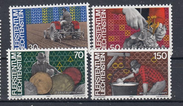 Liechtenstein Mi.-Nr.: 802/05 postfrisch