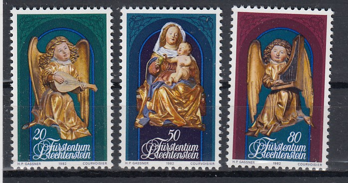 Liechtenstein Mi.-Nr.: 813/15 postfrisch