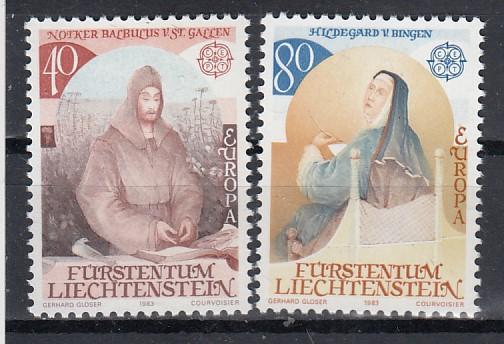 Liechtenstein Mi.-Nr.: 816/17 postfrisch