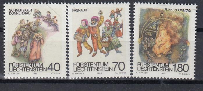 Liechtenstein Mi.-Nr.: 818/20 postfrisch