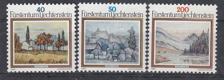 Liechtenstein Mi.-Nr.: 821/23 postfrisch