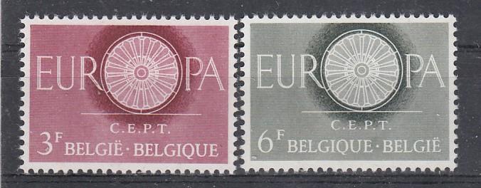 Belgien Mi.-Nr.: 1209/10 CEPT postfrisch