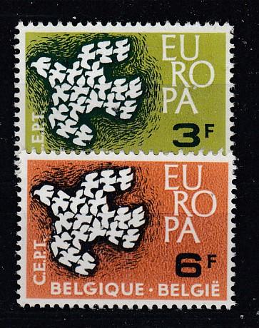 Belgien Mi.-Nr.: 1253/54 CEPT postfrisch