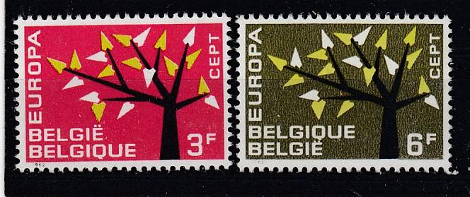 Belgien Mi.-Nr.: 1282/83 CEPT postfrisch