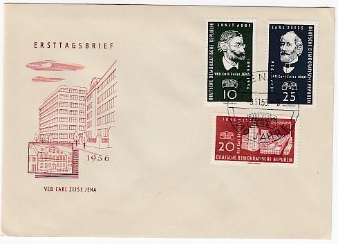 DDR Mi.-Nr.: 545/47  FDC