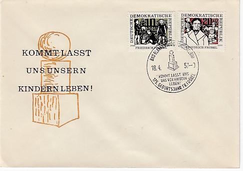 DDR Mi.-Nr.: 564/65  FDC