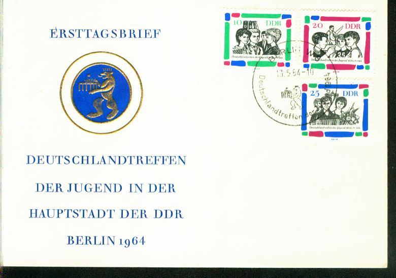 DDR Mi.-Nr.: 1022/24  FDC 0
