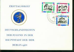 DDR Mi.-Nr.: 1022/24  FDC