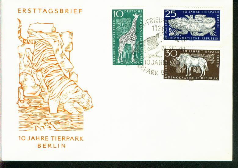 DDR Mi.-Nr.: 1093/95  FDC 0