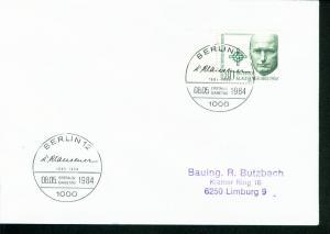 Berlin Mi.-Nr.: 719  FDC