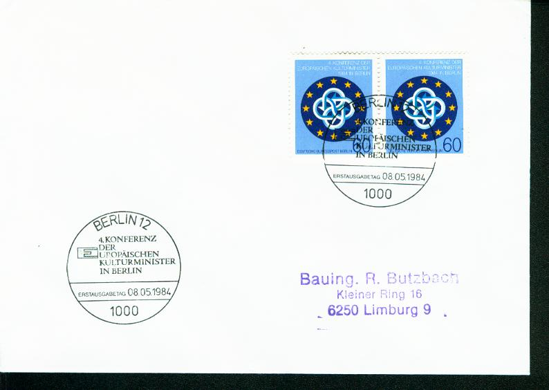 Berlin Mi.-Nr.: 721  FDC 0