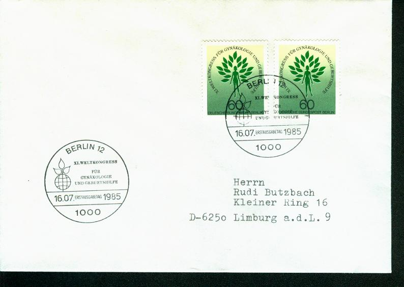 Berlin Mi.-Nr.: 742  FDC 0