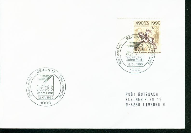 Berlin Mi.-Nr.: 860  FDC 0