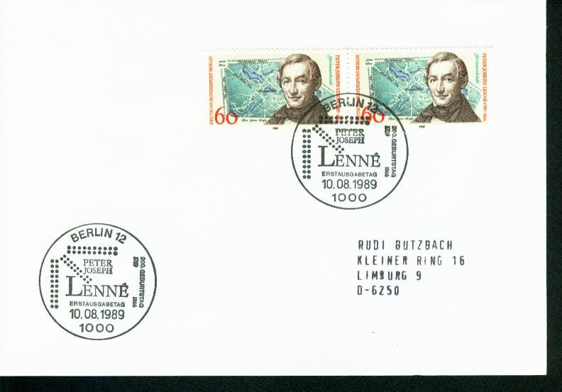 Berlin Mi.-Nr.: 850  FDC 0