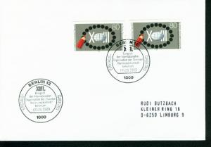 Berlin Mi.-Nr.: 843  FDC