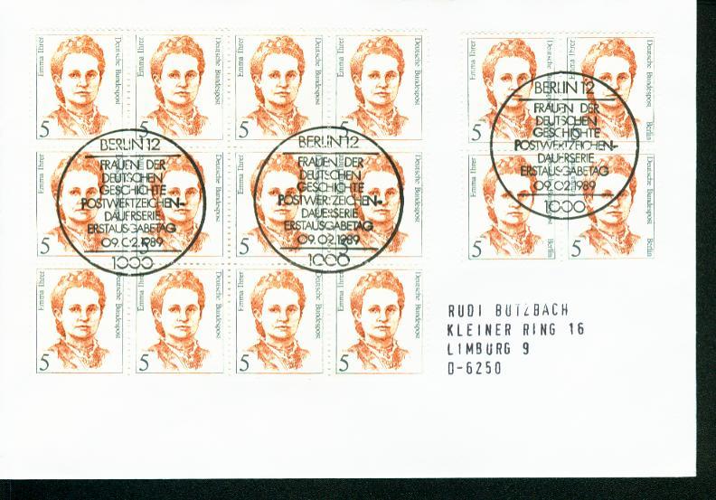 Berlin Mi.-Nr.: 833  FDC 0