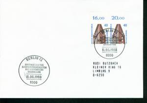 Berlin Mi.-Nr.: 816  FDC