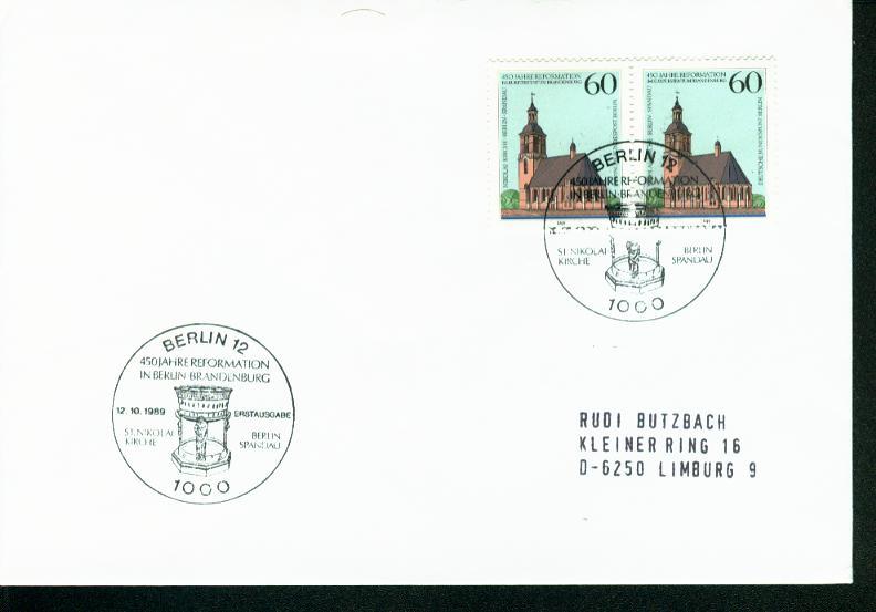Berlin Mi.-Nr.: 855  FDC 0