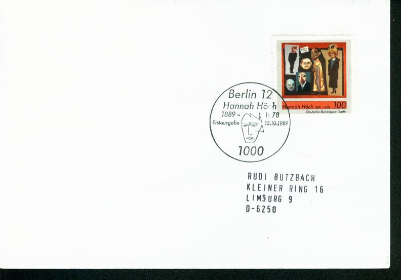 Berlin Mi.-Nr.: 857  FDC 0
