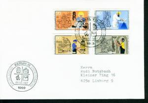 Berlin Mi.-Nr.: 780/83  FDC