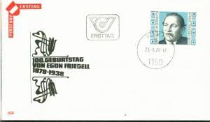 Österreich Mi.-Nr.: 1566  FDC