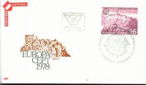 Österreich Mi.-Nr.: 1573  FDC