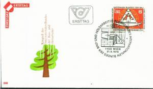 Österreich Mi.-Nr.: 1579  FDC