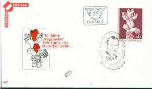 Österreich Mi.-Nr.: 1595  FDC