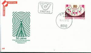 Österreich Mi.-Nr.: 1598  FDC